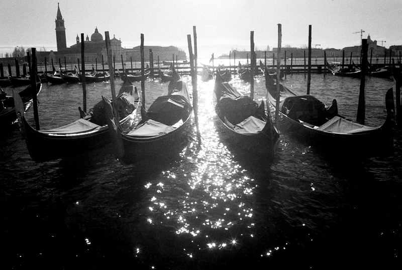 Gondolas at San Marco