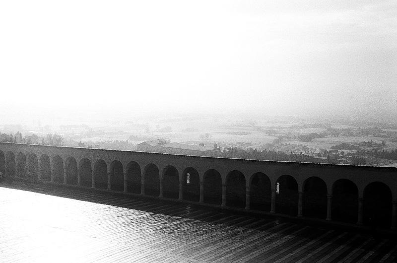 Outside San Francesco, Assisi